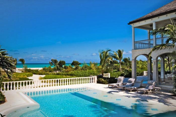 View to the ocean from Amazing Grace villa!