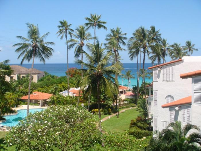 Glitter Bay 313 Sea Turtle Penthouse Ocean view from the villa. image, Barbados