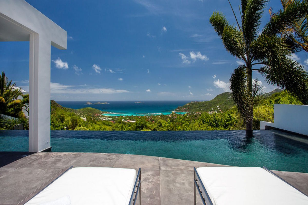 Nirvana Villa on St. Barts