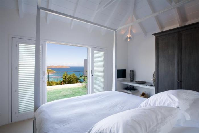 Views of the bay from the second bedroom.