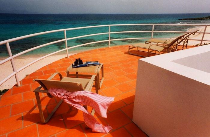 Grand Villa #6 at Covecastles Balcony views from the Grand villa! image, Anguilla