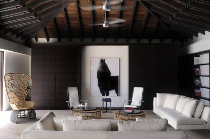 Teman villa 3 bedroom st barts villa rental for Atelier st jean chaise bercante