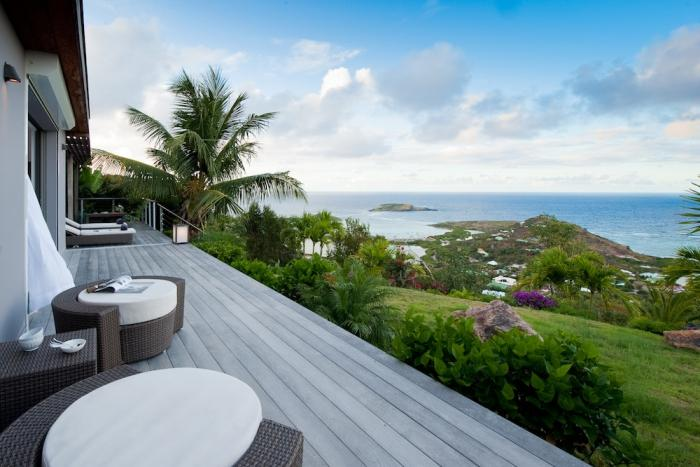 Ocean views from the terrace.