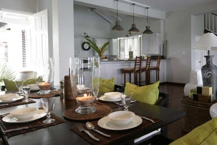 Kitchen and villa dining