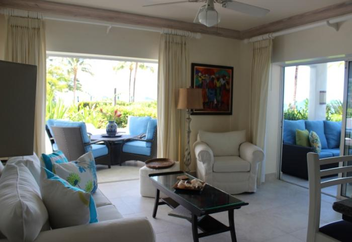 Glitter Bay 101 Oceanside  Living room image, Barbados