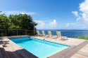 Pool deck provides spectacular views