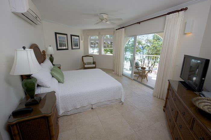 The Master Suite has access to the covered terrace