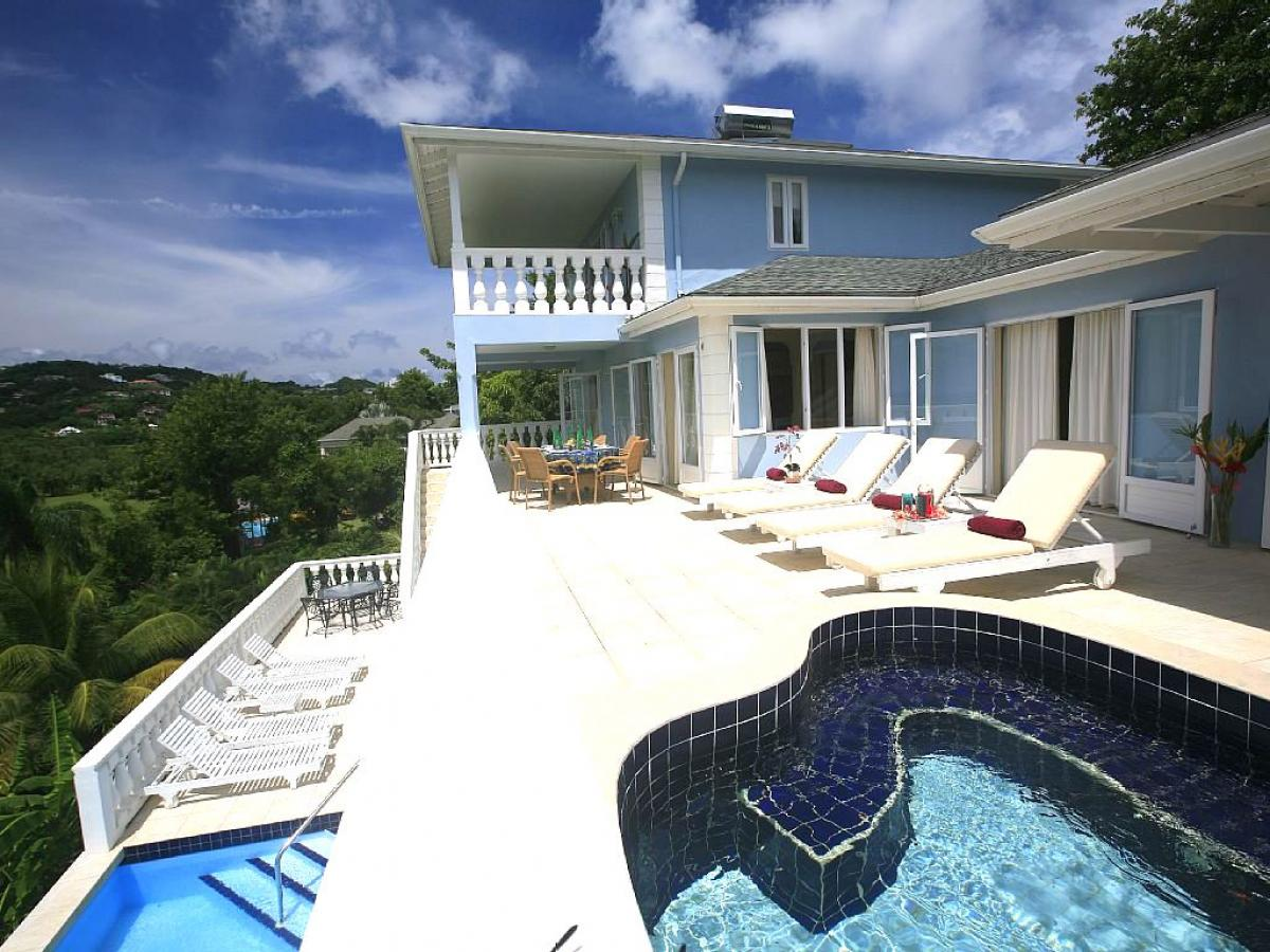 Blue Moon Villa on St. Lucia