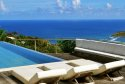 Enjoy beautiful views of the Caribbean from Teddy Villa