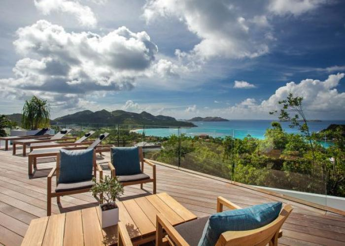 Wings Villa on St. Barts