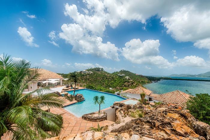 Le Rocher Villa on St. Martin