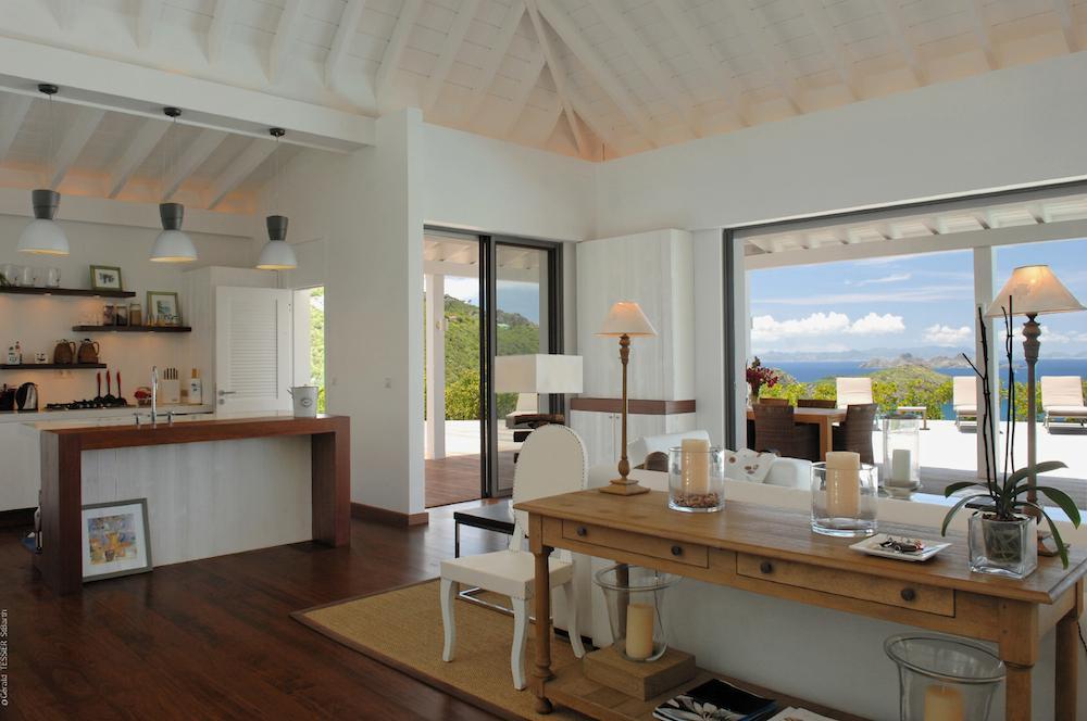 mia villa st barts villa rental. Black Bedroom Furniture Sets. Home Design Ideas