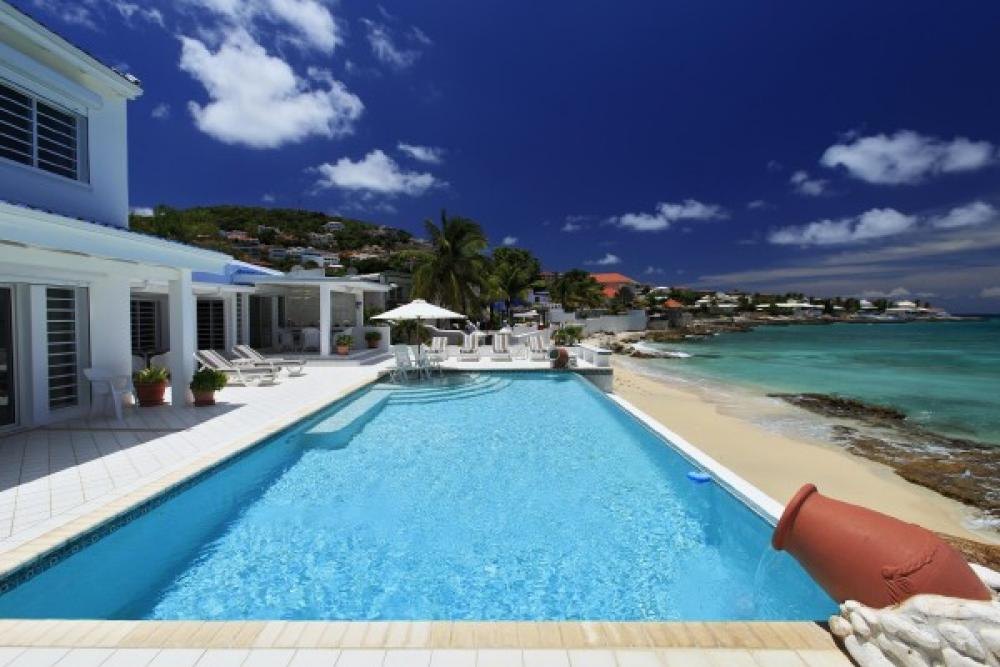 Caribbean Blue Villa on St. Martin