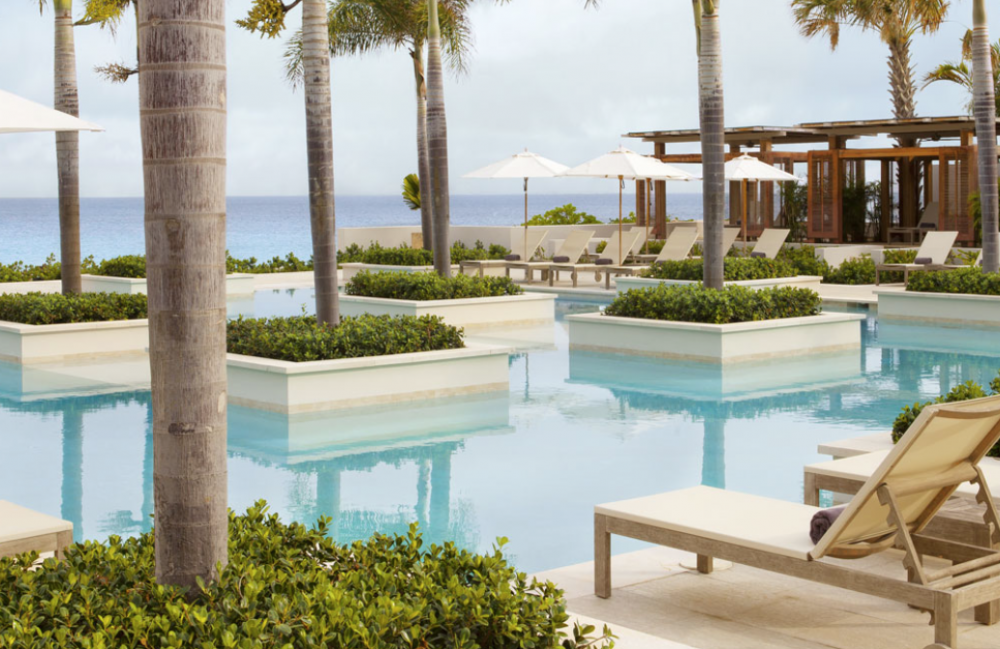 Viceroy Five Bedroom Beachfront Villa Resort pool at Viceroy resort image, Anguilla