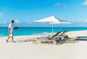 Beach service at Grace Bay Beach is included