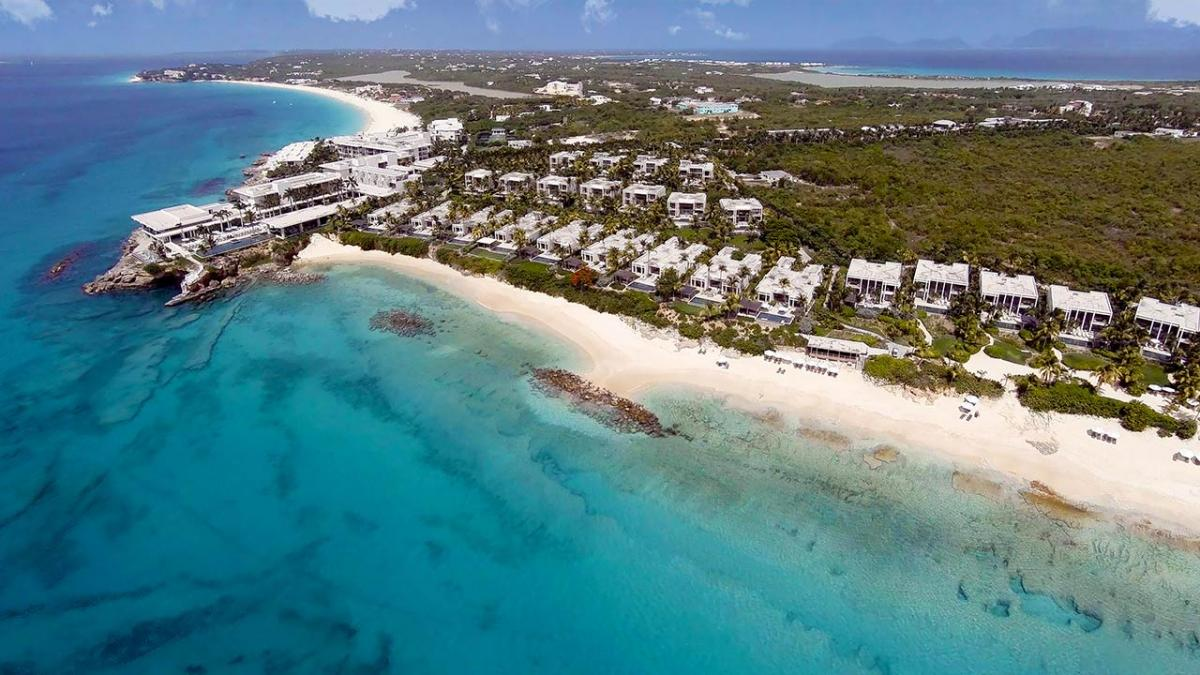 Viceroy Oceanfront Villa Villas are oceanfront along Barnes bay beach image, Anguilla